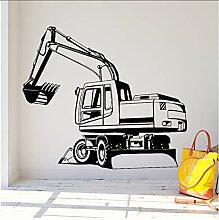 Wandtattoos Wandbilder Bagger Vinyl Wand Aufkleber
