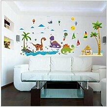 Wandtattoos Wandbilder Dinosaurier Cartoon
