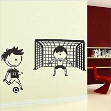 Wandtattoos & Wandbilder/Kinder spielen Fußball