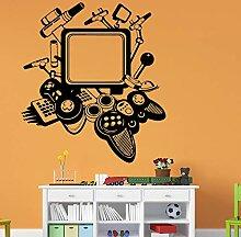 Wandtattoos Wandbilder Spiel Maschine Wohnkultur