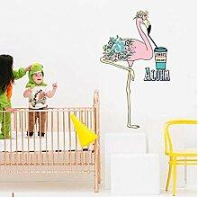 Wandtattoos & Wandbilder Wandtattoo Flamingo