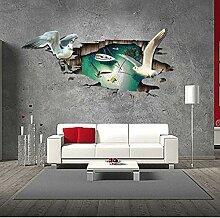 Wandtattoos Wandbilder3D Sea Mew Wandaufkleber