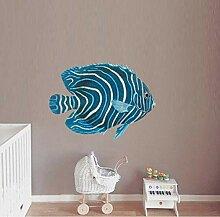 Wandtattoos Wandbilderblaue Tropische Fische