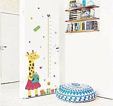 Wandtattoos Wandbildercartoon Giraffe