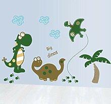 Wandtattoos Wandbildercute Cartoon Dinosaurier