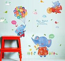 Wandtattoos Wandbilderdiy Cartoon Farbe Fliegenden
