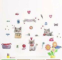 Wandtattoos Wandbilderdiy Nette Katze