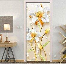 Wandtattoos Wandbilderpvc Wasserdichte 3D Blume