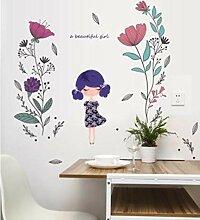 Wandtattoos Wandbilderschöne Mädchen
