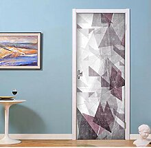 Wandtattoos Wandbilderselbstklebende 3D Tür