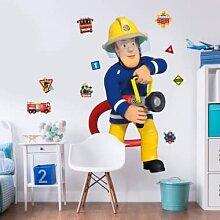 Wandtattoos - Wandsticker Feuerwehrmann Sam