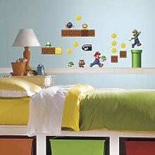 Super Mario Wandsticker Gunstig Online Kaufen Lionshome