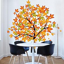 Wandtattoos - Wandtattoo Baum Herbst 1