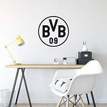 Wandtattoos - Wandtattoo BVB Logo schwarz