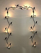 Wandteelichthalter 10412 Wandkerzenhalter Antik