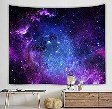 Wandteppich Kleiderbügel Bunte Universum