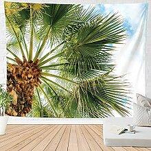 Wandteppich,Strand Landschaft Tropische Pflanze