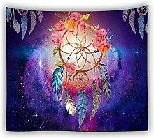 Wandteppich Wandbehang für Wohnzimmer lila