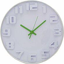 Wanduhr 30 cm jung und modern Quarz Uhr Küchenuhr Bürouhr we