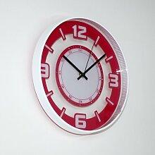 Wanduhr 31 cm Kennedy ScanMod Design Farbe: Rosa