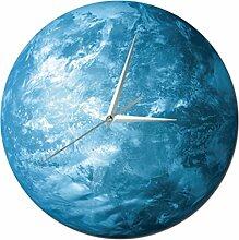 Wanduhr 3D, Vicoki 12 Zoll (30cm) Wanduhr Planet