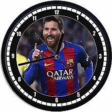 Wanduhr aus Kunststoff Lionel Messi