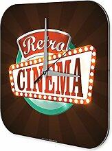 Wanduhr Bar Party Wand Deko Retro Kino Acyrl Dekouhr Retro