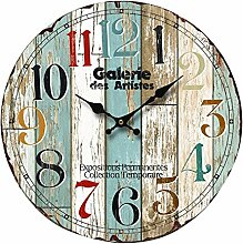 Wanduhr BHP B991746 Arabische Ziffern Vintage