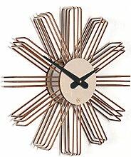 Wanduhr Estrella: Moderne Design Wanduhr aus Holz.