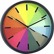 Wanduhr Geräuschlos, Likeluk 10 Zoll Modern Quartz Lautlos Wanduhr Uhr Uhren Wall Clock ohne Ticken