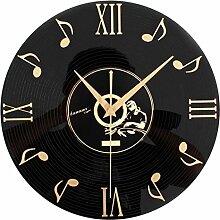 Wanduhr Geräuschlos, Likeluk 12 Zoll(30cm) Modern Quartz Lautlos Wanduhr Uhr Uhren Wall Clock ohne Ticken