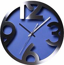 Wanduhr Geräuschlos, Likeluk 12 Zoll Modern Quartz Lautlos Wanduhr Uhr Schleichende Sekunde ohne Ticken