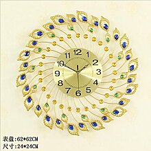 wanduhr Goldene Uhr Kreative Continental Eisen Uhr