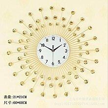 wanduhr Goldene Uhr Uhr - Craft - Geschenk Uhr