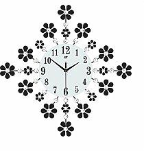 Wanduhr Großformat Wohnzimmer Schlafzimmer Mute Clock Europäische Moderne Minimalistische Haus Garten Quarzuhr