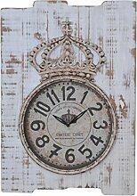 Wanduhr H07, Uhr Wanddekoration, Shabby-Look