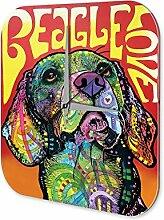 Wanduhr Hunde Deko Beagle Acryl Deko Wand Uhr Retro