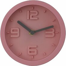 Wanduhr Indelicato 17 Stories Farbe: Rosa