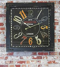 Wanduhr Kensington Station - London, 60 x 60 cm,