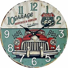 Wanduhr Lautlos, Likeluk 14 Zoll (35CM)Vintage Uhr