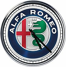 Wanduhr Mit Alfa Romeo (2015)