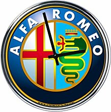 Wanduhr Mit Alfa Romeo