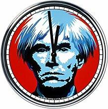 Wanduhr Mit Andy Warhol