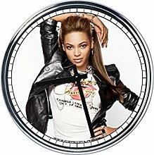 Wanduhr Mit Beyonce