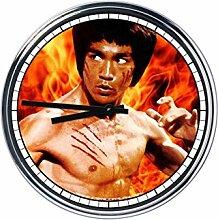 Wanduhr Mit Bruce Lee 2