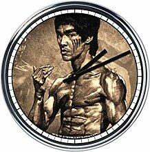 Wanduhr Mit Bruce Lee 4
