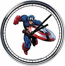 Wanduhr Mit captain America 2