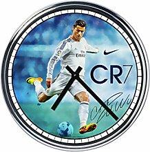 Wanduhr Mit Cristiano Ronaldo