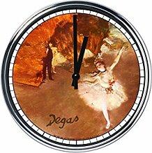 Wanduhr Mit Edgar Degas - Tänzer