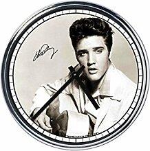 Wanduhr Mit Elvis Presley
